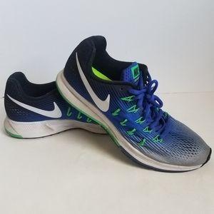 Nike Pegasus Zoom 33 Womens Size 8 Blue Green Runn